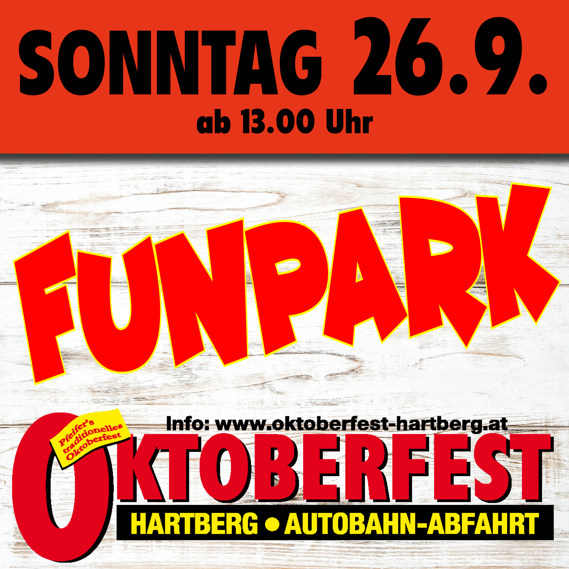 Oktober Fest Hartberg 26.09.2021