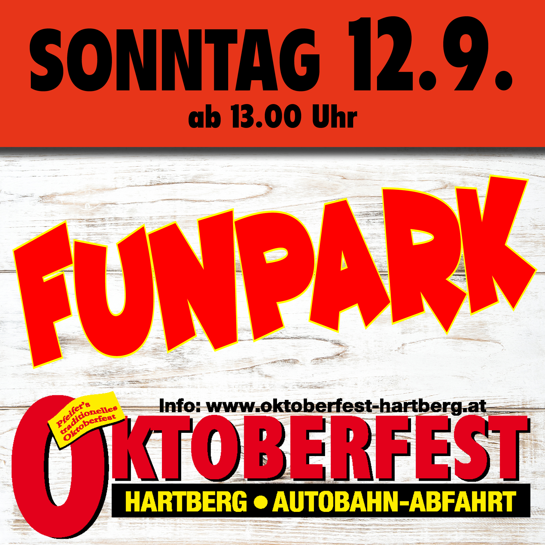 Oktober Fest Hartberg 12.09.2021