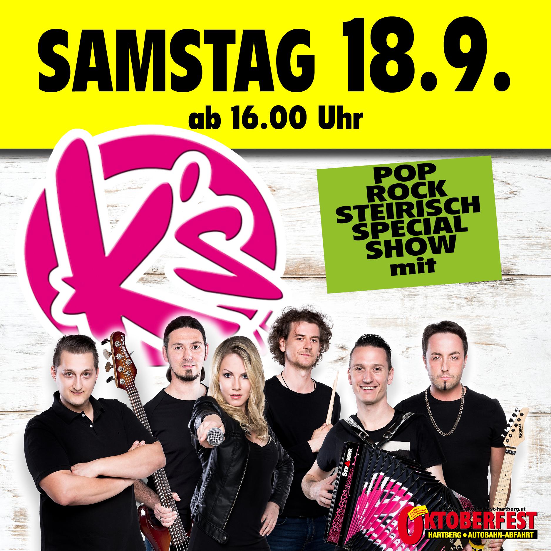 Oktober Fest Hartberg 18.09.2021