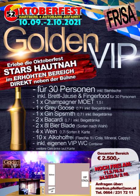Golden VIP gesamt